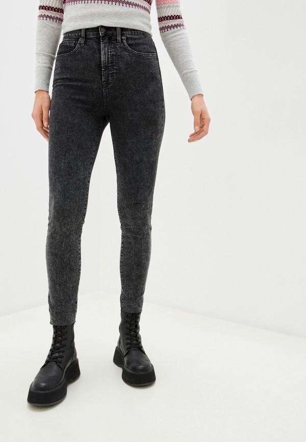 женские джинсы gap, черные