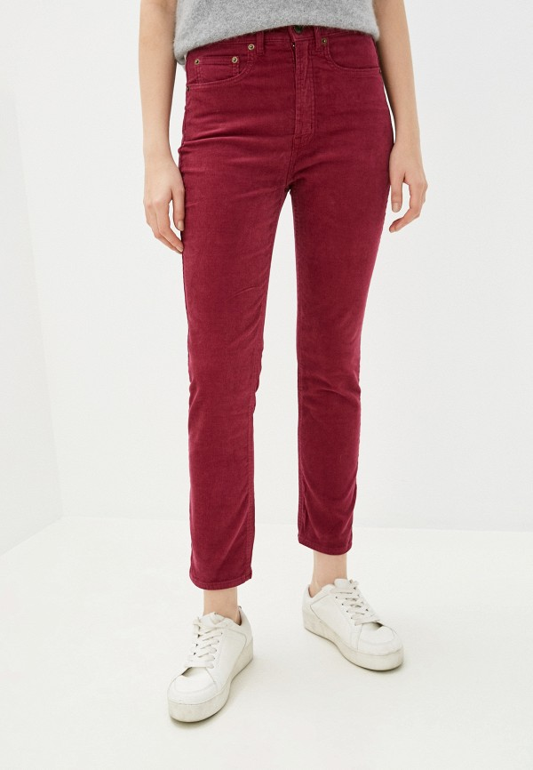 женские повседневные брюки gap, розовые