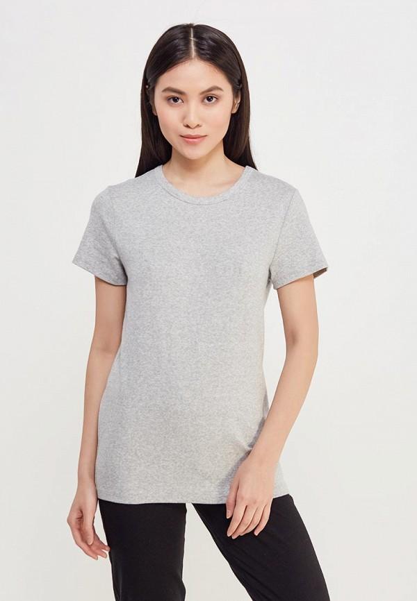женская футболка gap, серая