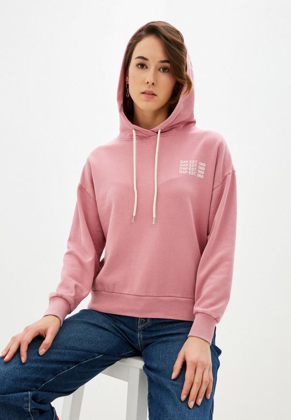 женские худи gap, розовые