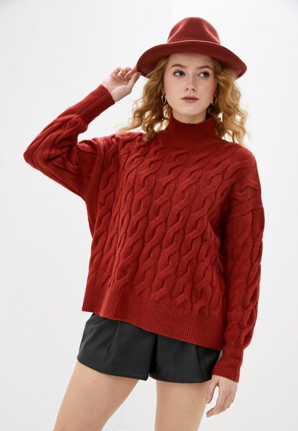 женский свитер gap, коричневый