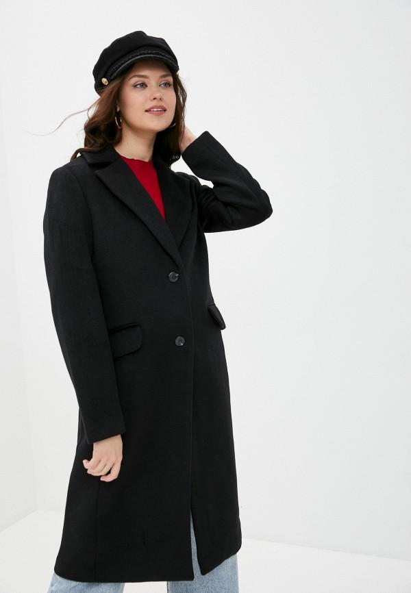 женское пальто gap, черное