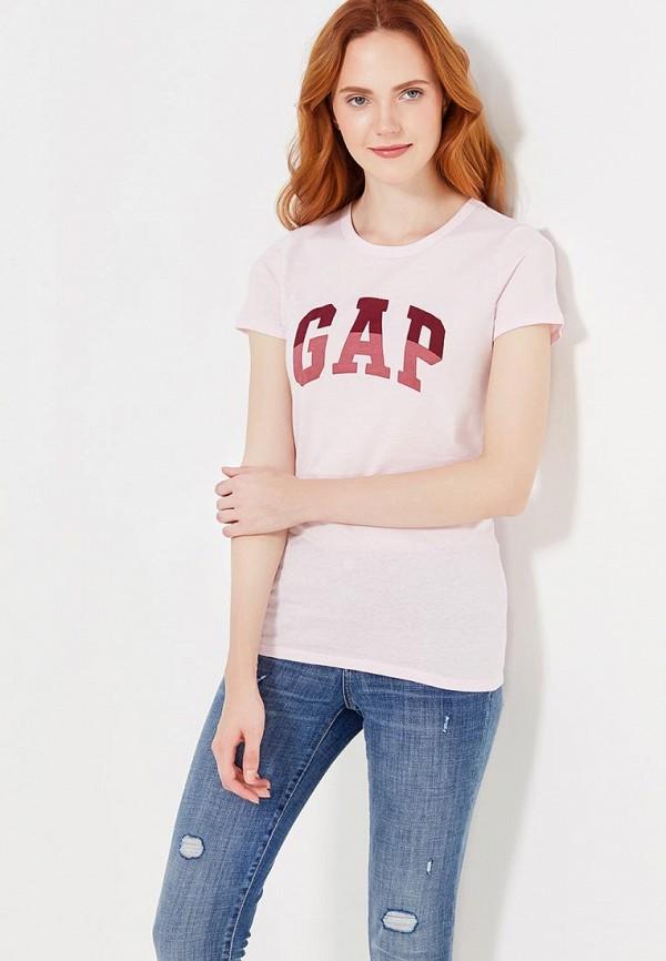 Футболка Gap Gap GA020EWVDJ63 лонгслив gap gap ga020ewvdp97