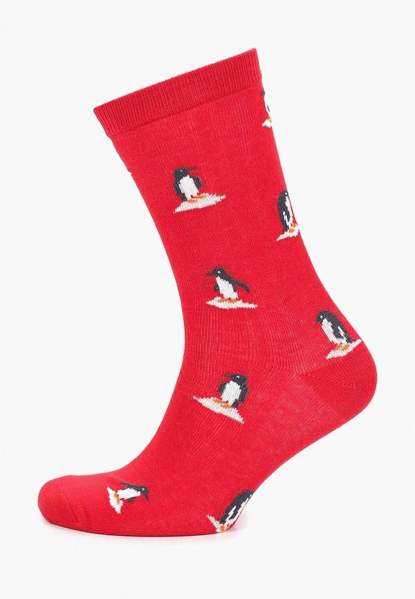 Носки  красный цвета