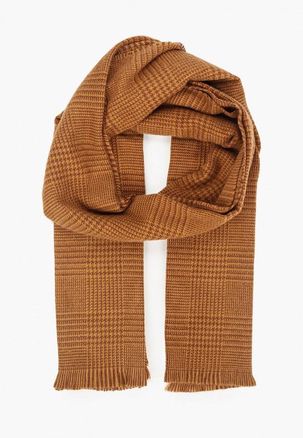 мужской шарф gap, коричневый