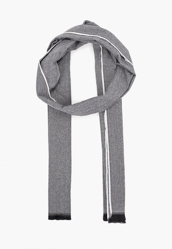 мужской шарф gap, серый