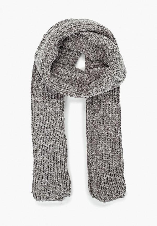 женский шарф gap, серый