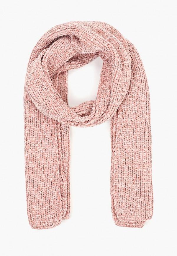 женский шарф gap, розовый