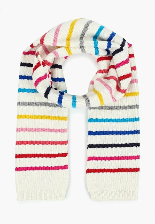женский шарф gap, белый