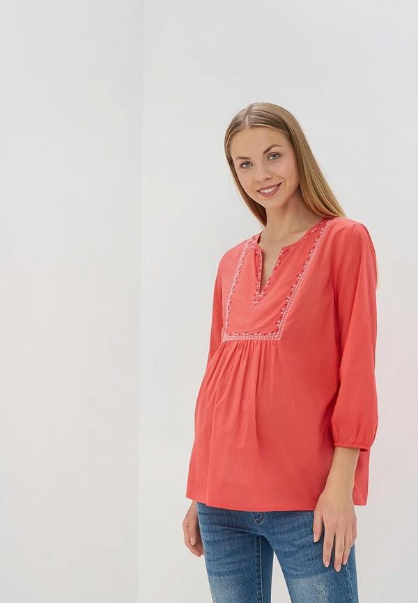 Купить Блуза Gap Maternity, GA021EWBFCY5, коралловый, Весна-лето 2018