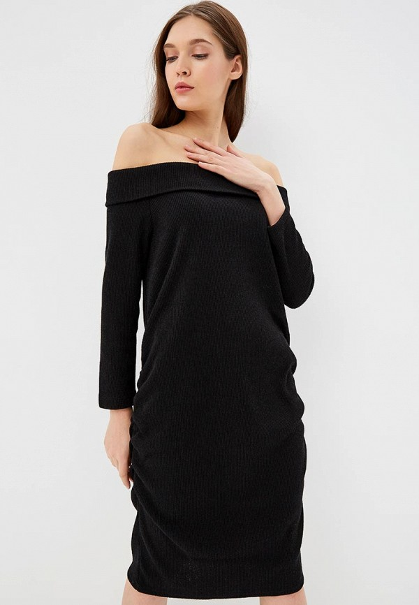 женское платье для беременных gap maternity, черное