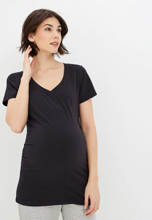 женская футболка gap maternity, синяя