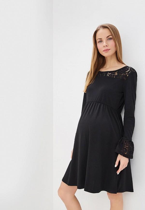 женское вечерние платье gap maternity, черное