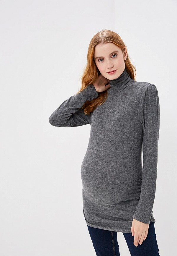 женская водолазка gap maternity, серая