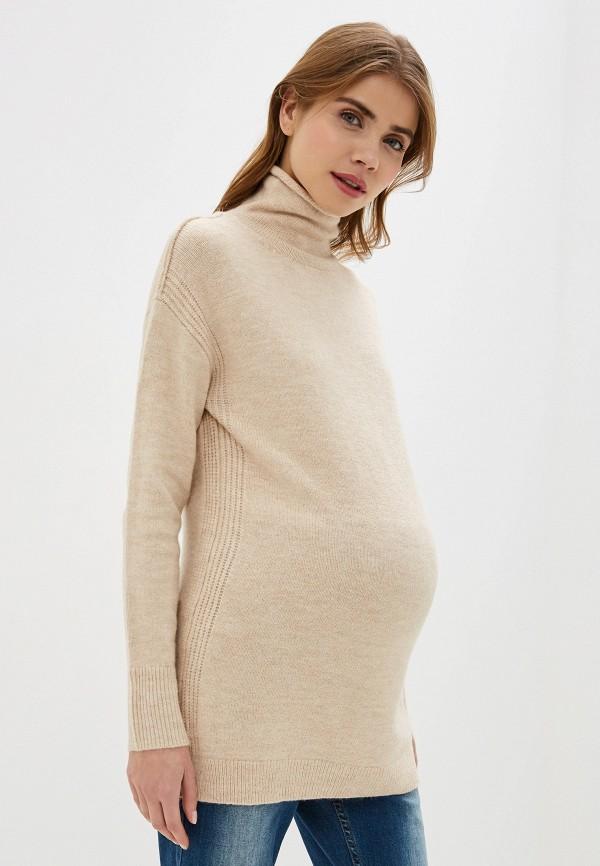 женский свитер gap maternity, бежевый