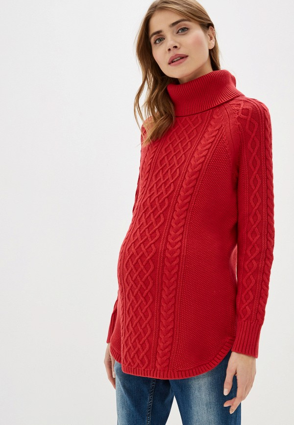 женский свитер gap maternity, красный