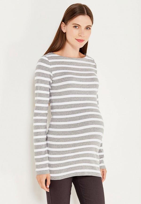 женский лонгслив gap maternity, серый