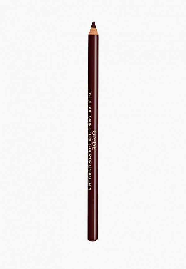 карандаш для губ ga-de, коричневый