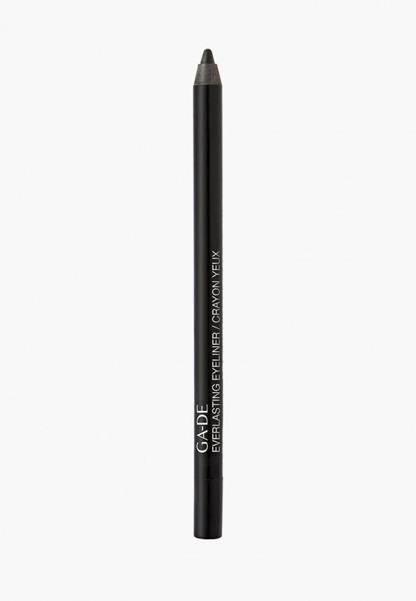 карандаш для глаз ga-de, черный