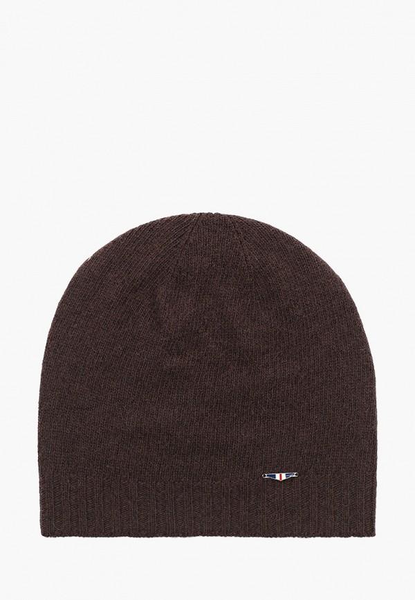 мужская шапка galvanni, коричневая