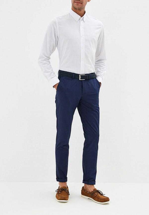 Фото 5 - мужскую рубашку Galvanni белого цвета
