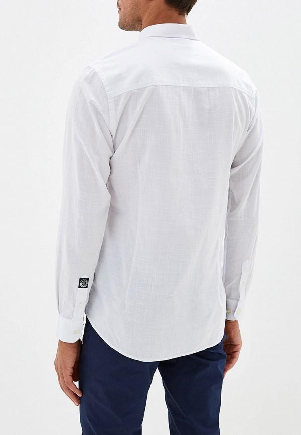 Фото 6 - мужскую рубашку Galvanni белого цвета