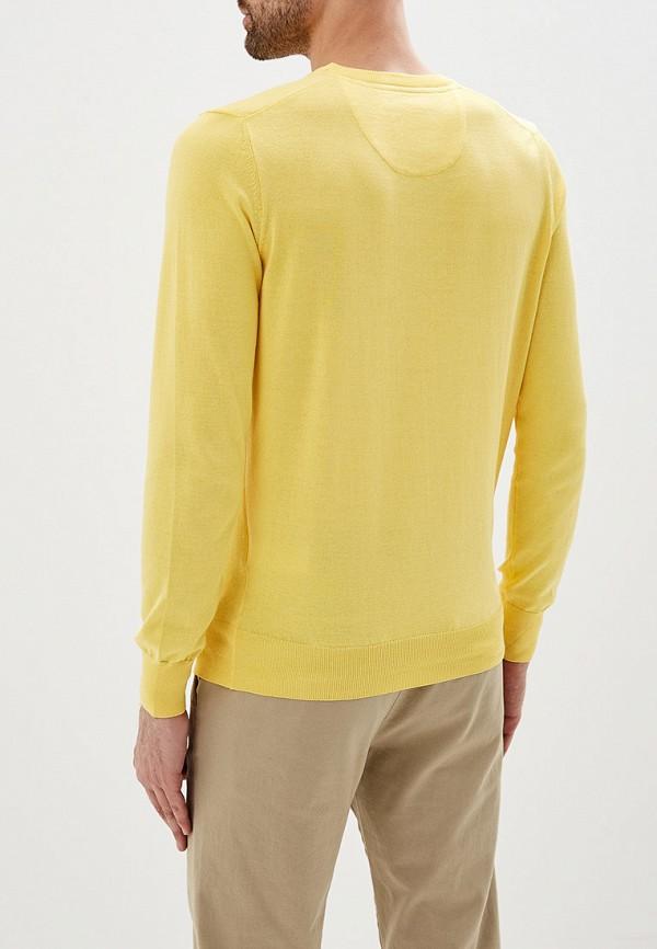 Фото 3 - мужское джемпер Galvanni желтого цвета