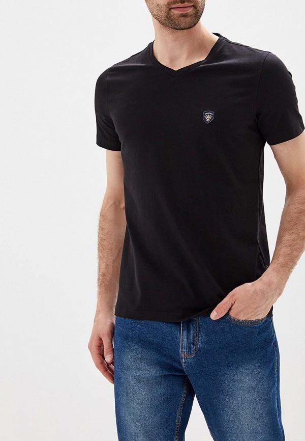 Фото - мужскую футболку Galvanni черного цвета