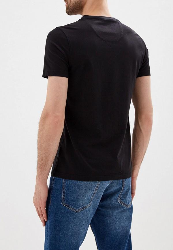 Фото 3 - мужскую футболку Galvanni черного цвета