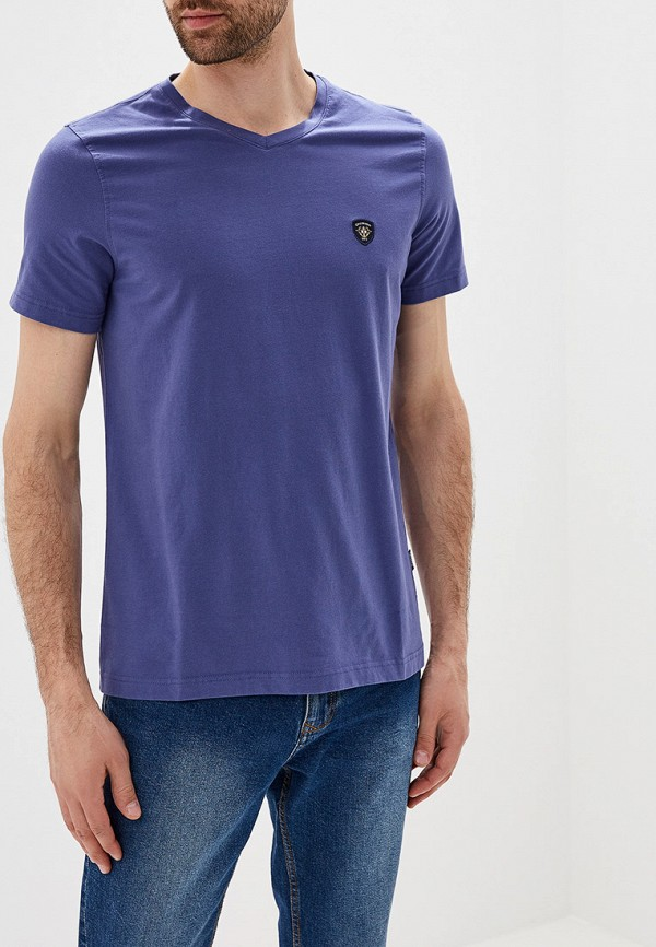 Фото - мужскую футболку Galvanni синего цвета