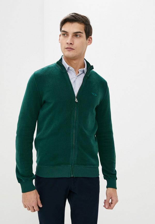 мужская олимпийка galvanni, зеленая