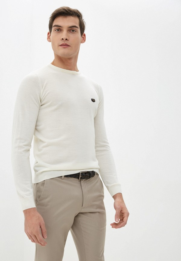 мужской джемпер galvanni, белый