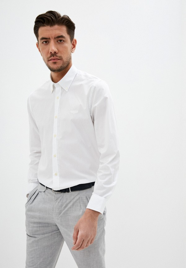 мужская рубашка galvanni, белая