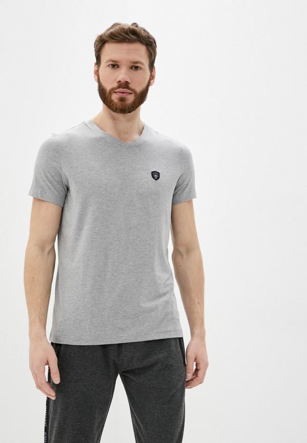 мужская футболка с коротким рукавом galvanni, серая