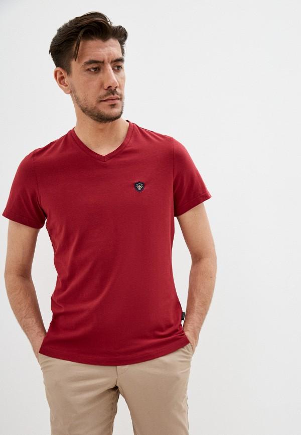 мужская футболка galvanni, красная