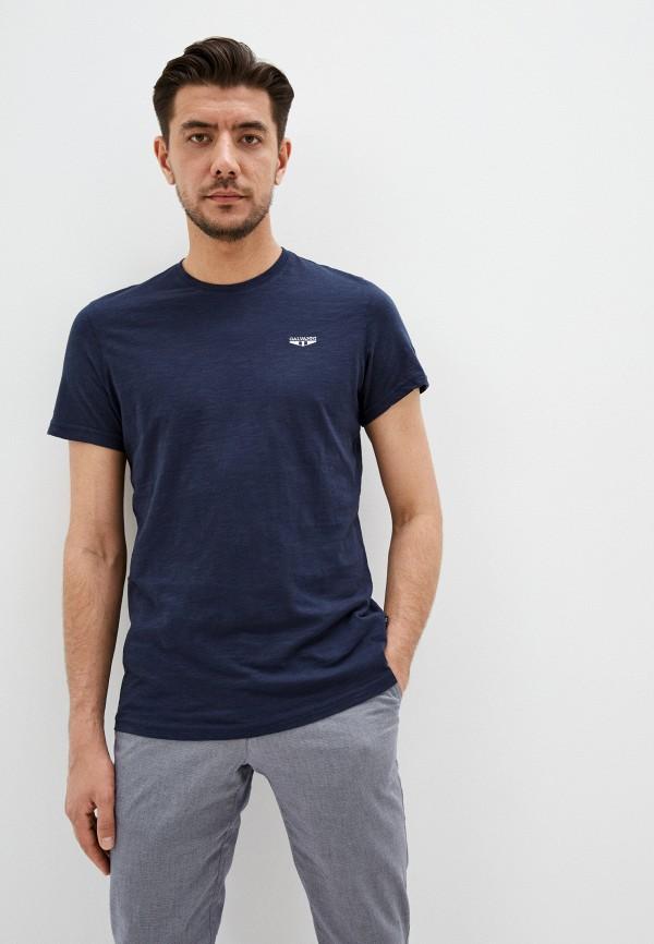 мужская футболка galvanni, синяя