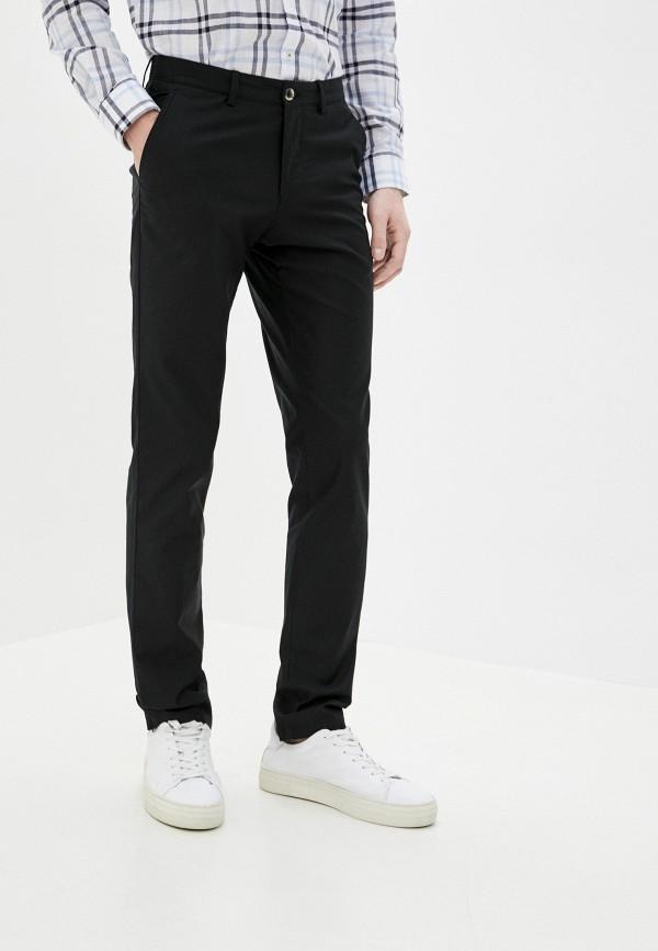 мужские брюки чинос galvanni, черные