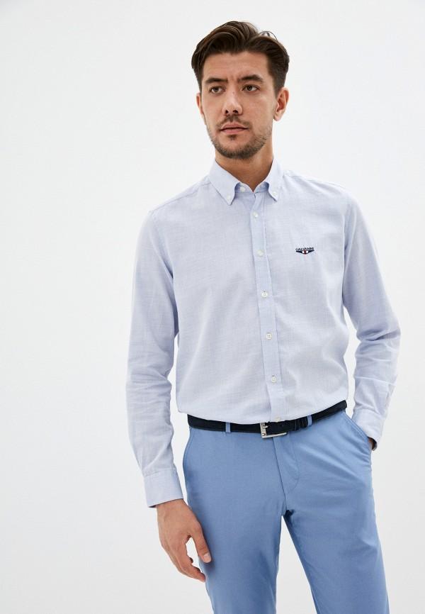 мужская рубашка galvanni, голубая