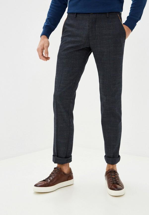 мужские прямые брюки galvanni, синие