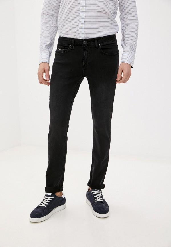 мужские зауженные джинсы galvanni, серые
