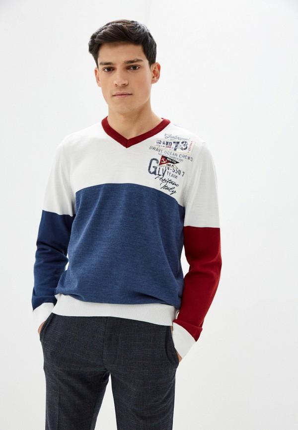 мужской пуловер galvanni, синий