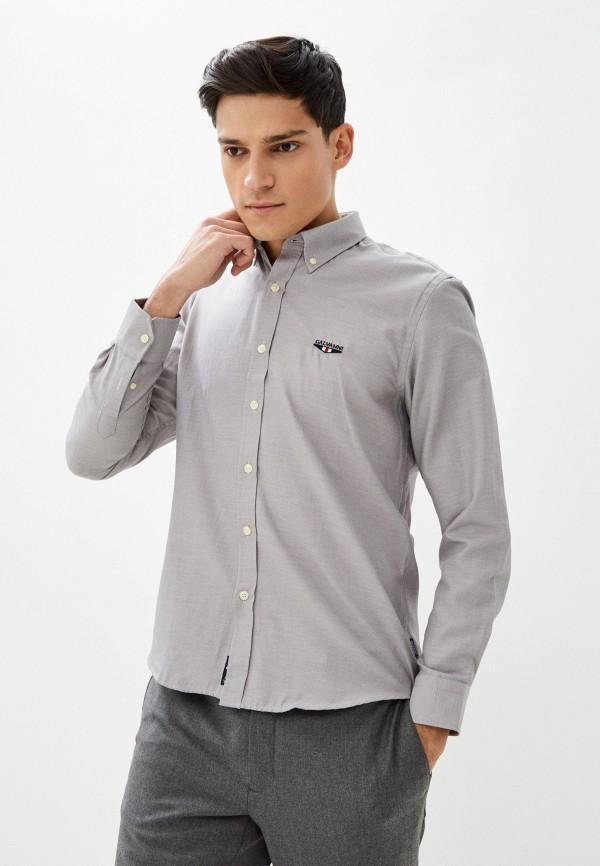 мужская рубашка galvanni, серая