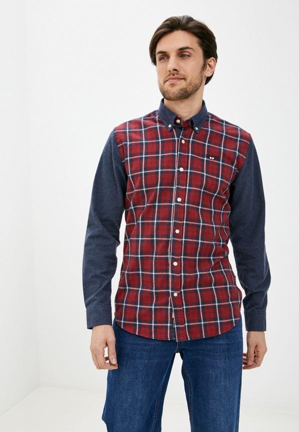 мужская рубашка galvanni, синяя