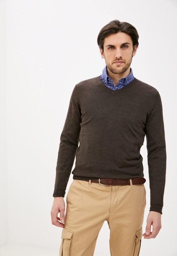 мужской пуловер galvanni, коричневый