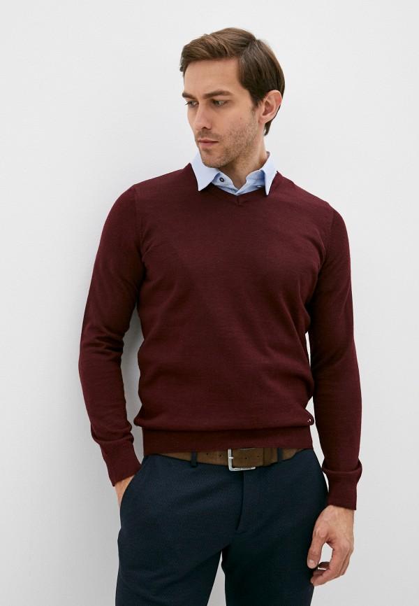 мужской пуловер galvanni, бордовый
