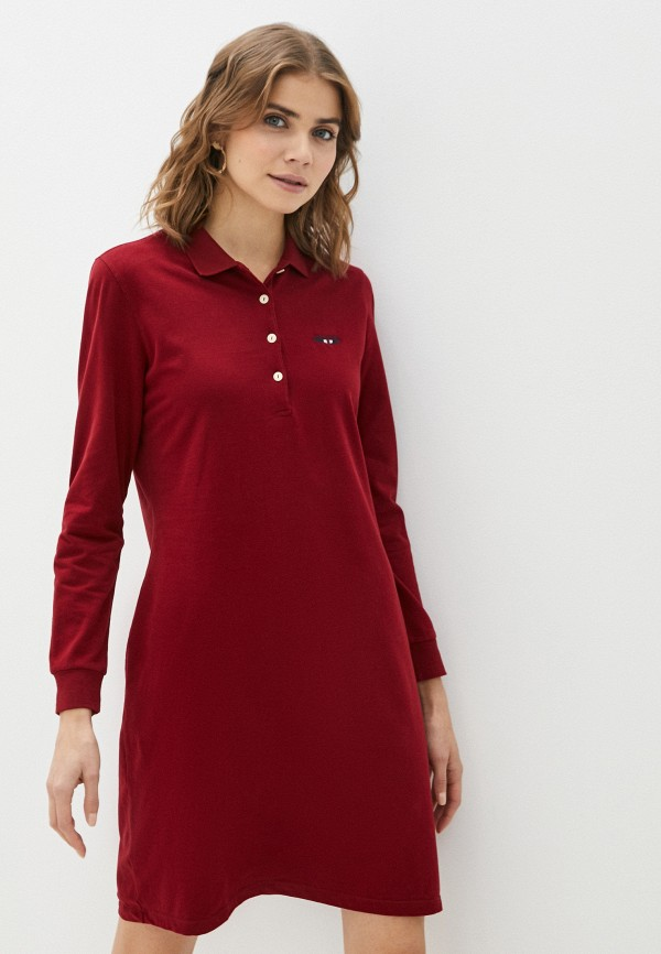 женское платье galvanni, бордовое