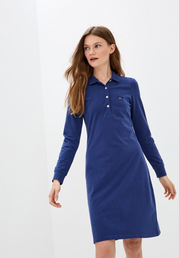 женское платье galvanni, синее
