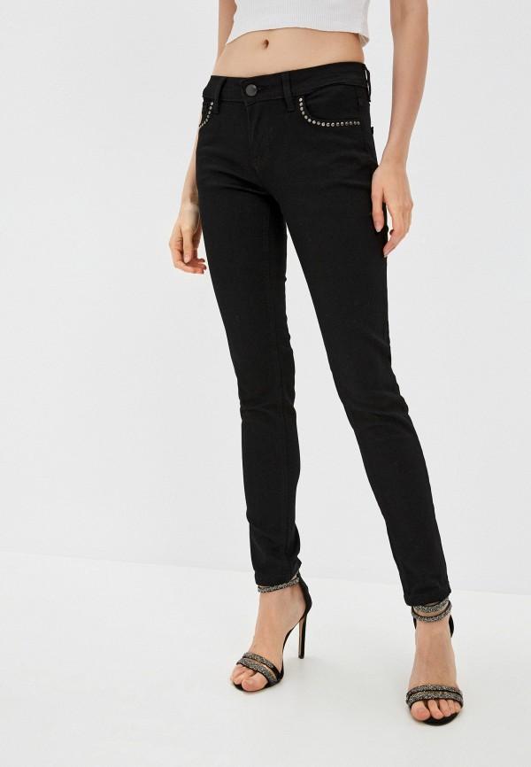 женские джинсы скинни galvanni, черные