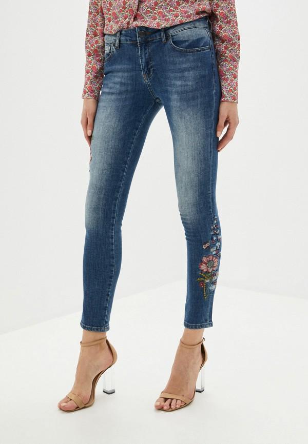 женские джинсы galvanni, синие