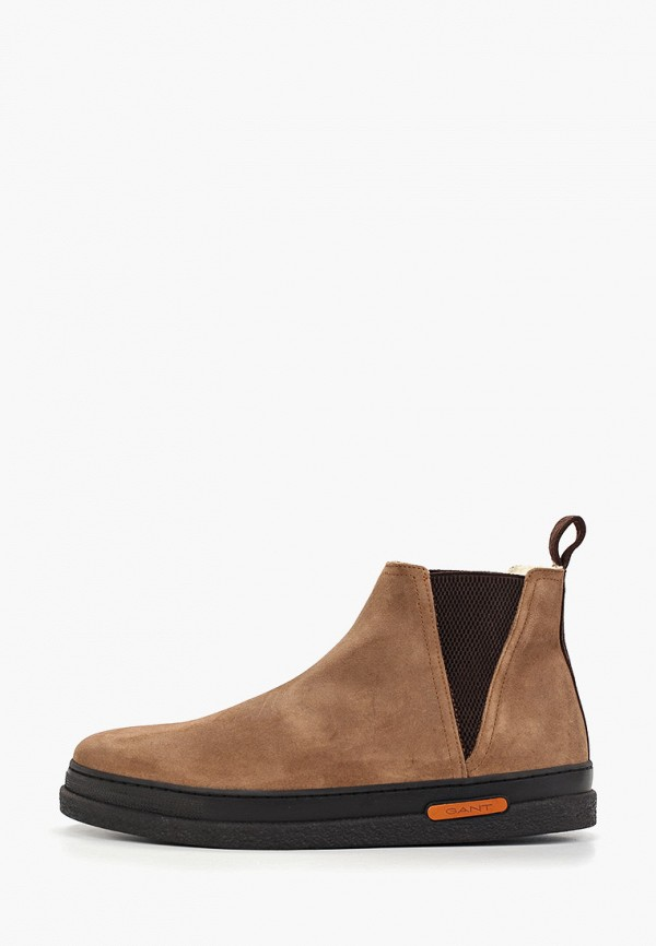 мужские ботинки gant, коричневые